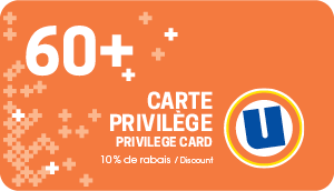 visual of privilege card 60 plus Uniprix