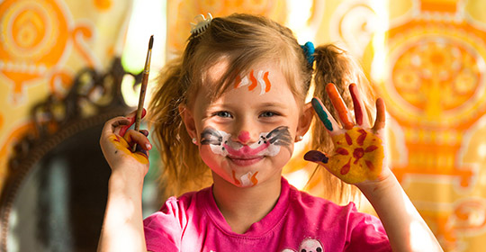 Do it yourself face painting for kids beauty tips uniprix at halloween makeup or mask solutioingenieria Images